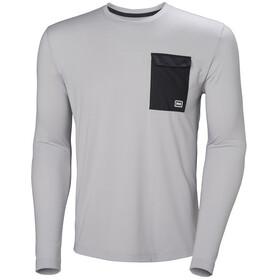 Helly Hansen Lomma - Camiseta de manga larga Hombre - gris